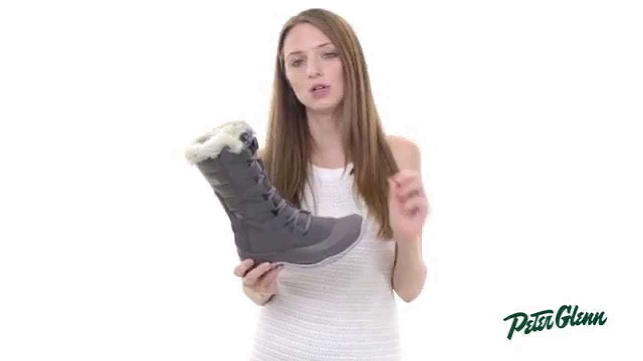 2015 The North Face Women s Nuptse Purna Boot Review by Peter Glenn -  YouTube 9d62cae82