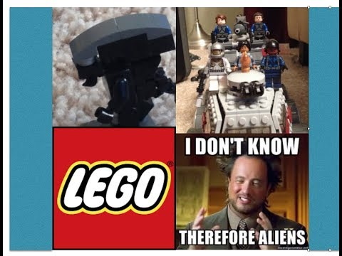 Lego ALIEN vs First Order vs Predator vs Colonial Marines
