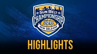 2018 Sun Belt Conference Women's Basketball Championship: Game 2 USA vs ULM Highlights