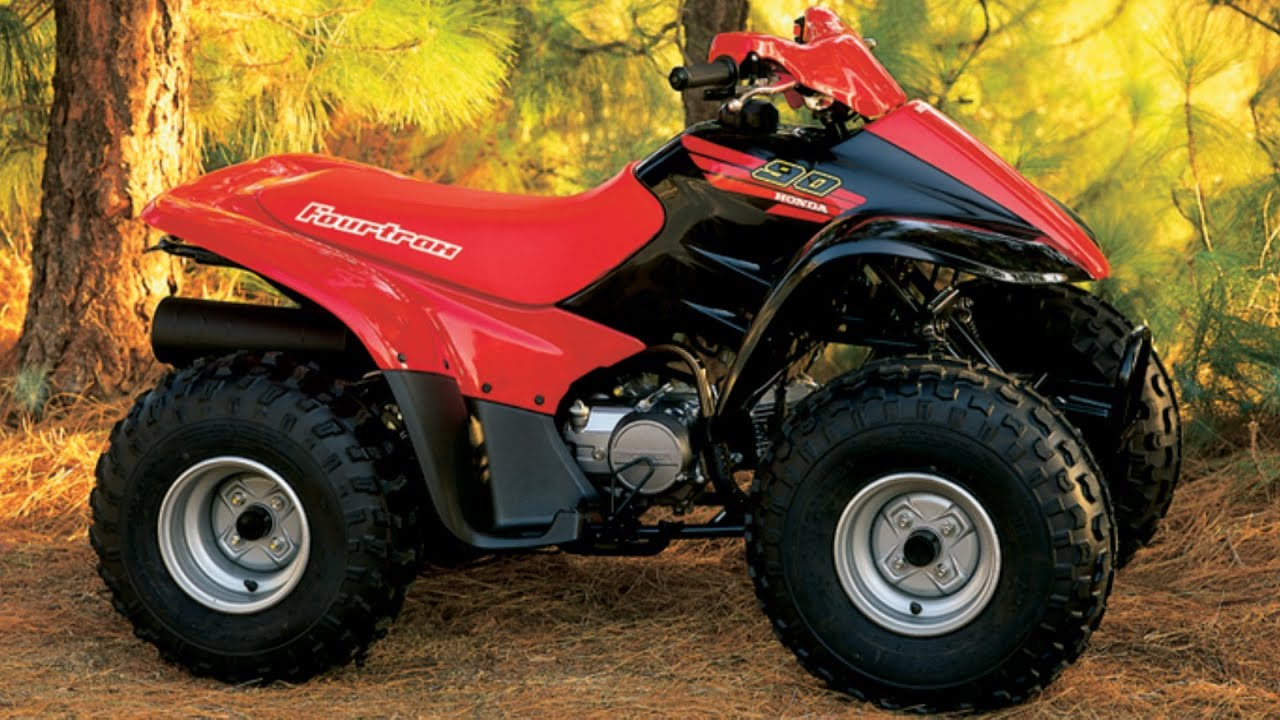 Clymer Manuals Honda Fourtrax 90 ATV Shop Service Repair Manual Video Quad