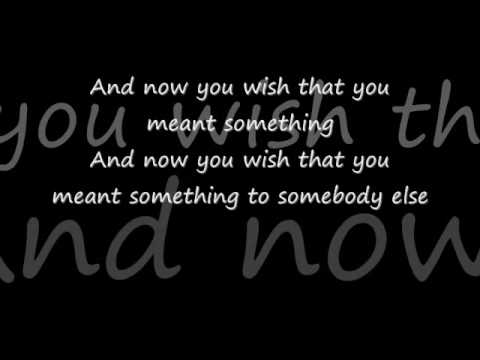 Lyrics to fallin out