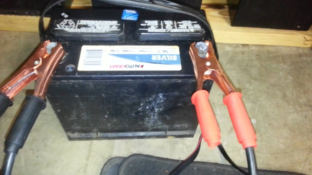 Low Battery Tester Harbor Freight : Harbor freight cen tech battery load tester youtube