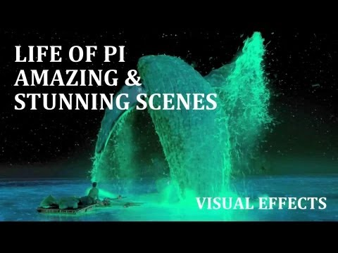 Life of Pi Amazing & Stunning Scenes [HD] | Ang Lee | Oscar Winning | Visual Effects | Audiomachine