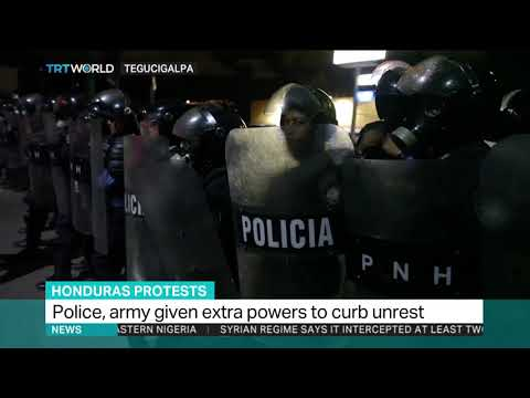 State of emergency in Honduras after post-election violence