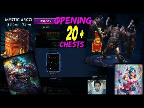 smite how to open cutesy chests