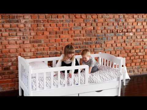 Видео кроватки Baby Dream Ассоль