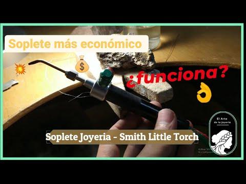 Soplete económico de Joyería   Smith little Torch   review and unboxing