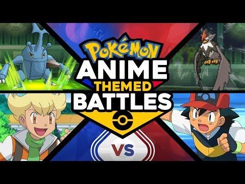 Ash vs Barry - Pokémon Anime Theme Battles #8