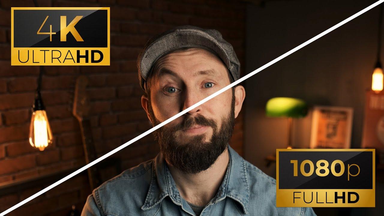 4K vs 1080p l Pourquoi je ne filme PAS en 4k en 2020 - YouTube