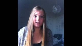 Ginny Hensen sings a part of