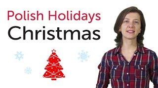 Learn Polish - Polish Holidays - Christmas