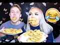 100 CHICKEN NUGGETS CHALLENGE PÅ 10 MIN