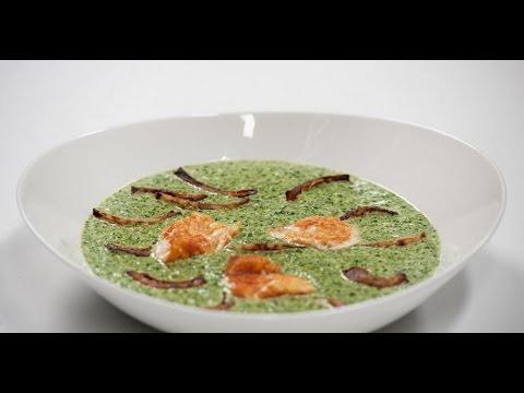 Крем-суп из шпината  | 7 нот вегетарианской кухни
