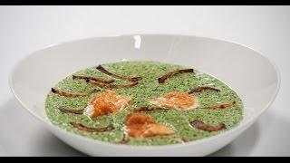 Крем-суп из шпината    7 нот вегетарианской кухни