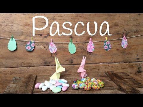 Manualidades para pascua fáciles y divertidas: guirnalda de huevos de pascua