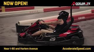 Accelerate Indoor Speedway & Events - NOW Open!