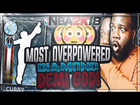 This Super Rare DIAMOND Card Is Seriously GAME BREAKING! UNBELIEVABLE GAME WINNER! | NBA 2K18 MYTEAM