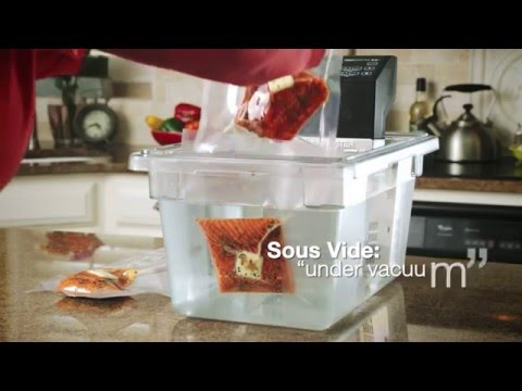 Sous Vide Cooking with VacMaster