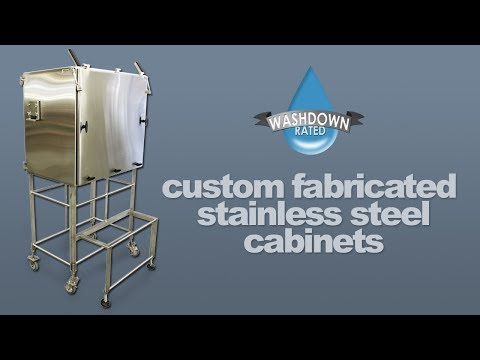 Custom Fabricated Stainless Steel Enclosures, Carts, & Cabinets to Protect Your Equipment