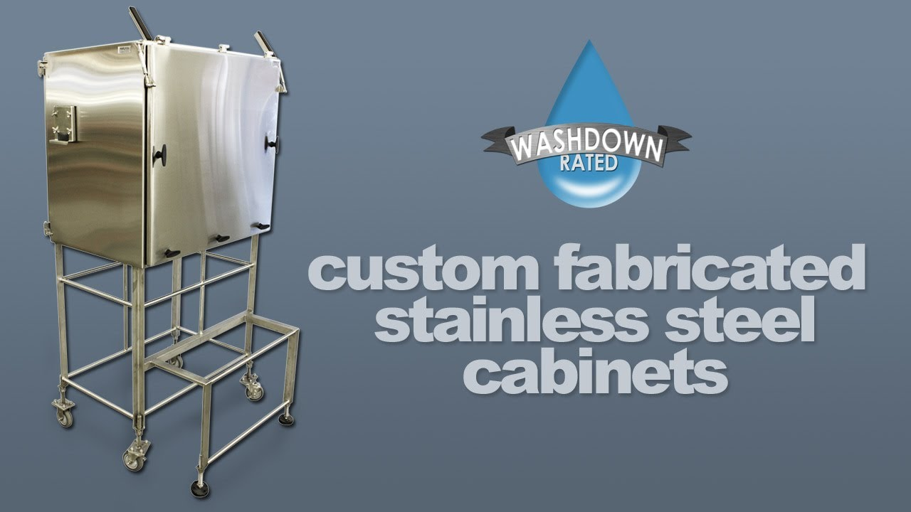 Custom Fabricated Stainless Steel Enclosures Carts