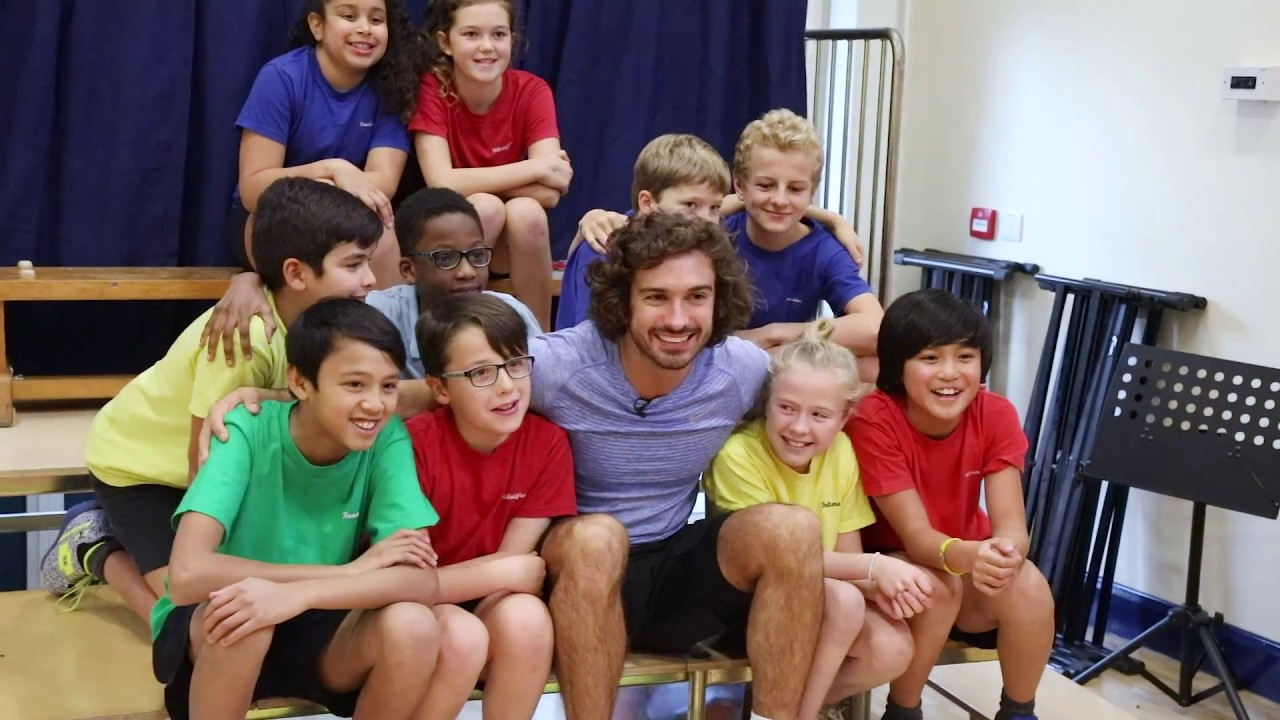 Image result for joe wicks school