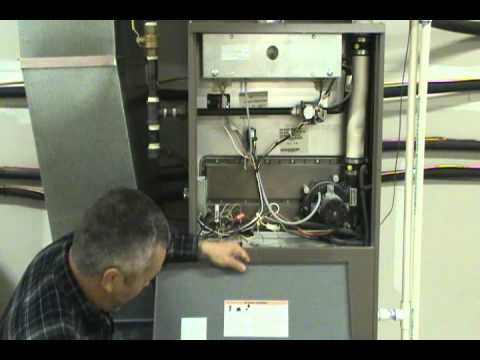 gas furnace troubleshootingwmv - YouTube