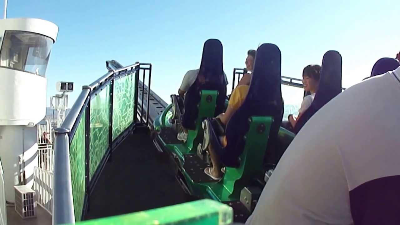 Las Vegas Stratosphere Extreme X-Scream Thrill Ride - YouTube