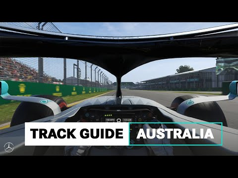 How to Master a Lap of Melbourne's F1 Circuit!