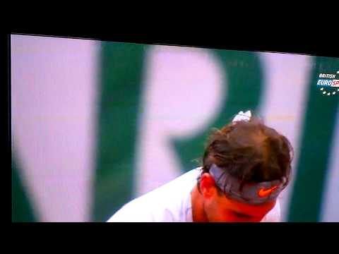 2013 french open final match point Rafael Nadal vs David Ferrer