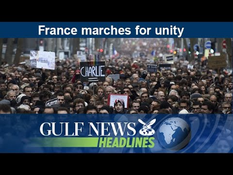 France marches for unity - GN Headlines