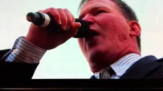 Jim Cornelison National Anthem for Bears Seahawks 2011