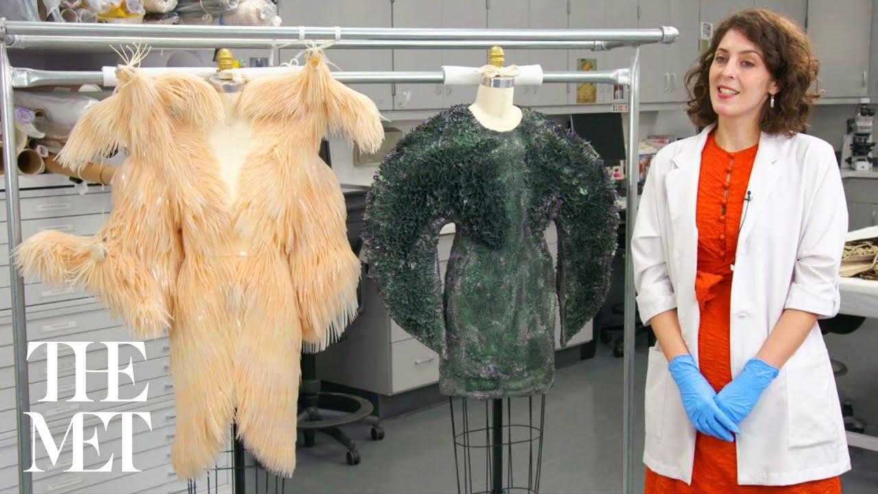 Iris Van Herpen Behind The Scenes At Costume Insute Conservation Laboratory