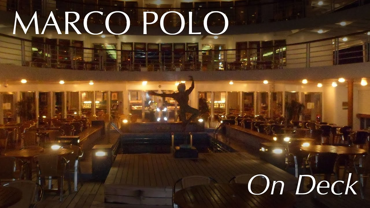 cruise maritime voyages marco polo on deck youtube. Black Bedroom Furniture Sets. Home Design Ideas