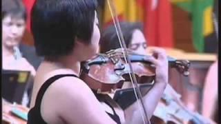 Yura Lee, violin - Tchaikovsky Violin Concerto (1 of 4)