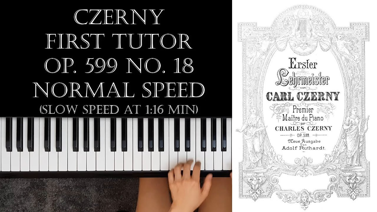 First Instructor of the Piano op Carl   piano 9790001138116 599  Czerny