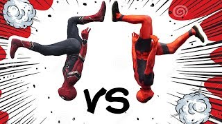 Infinity War Spiderman VS Deadpool In Real Life (Parkour, Tricking, Tumbling)