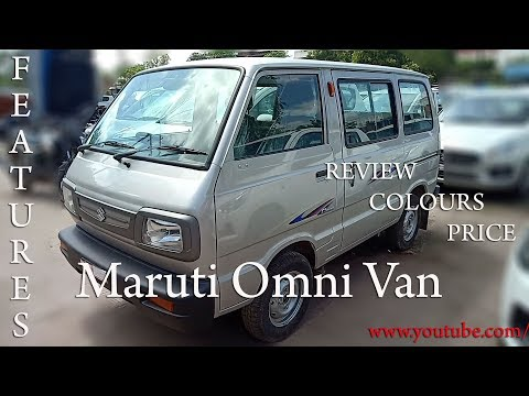 Maruti Omni Van-Detailed Review