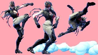 Fortnite All Dances Season 1-6 with Arachne Updated to Sprinkler