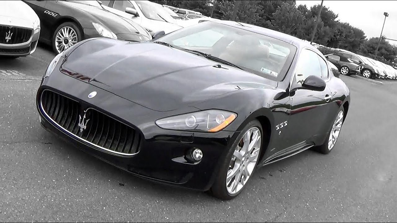 2009 maserati granturismo s review youtube. Black Bedroom Furniture Sets. Home Design Ideas