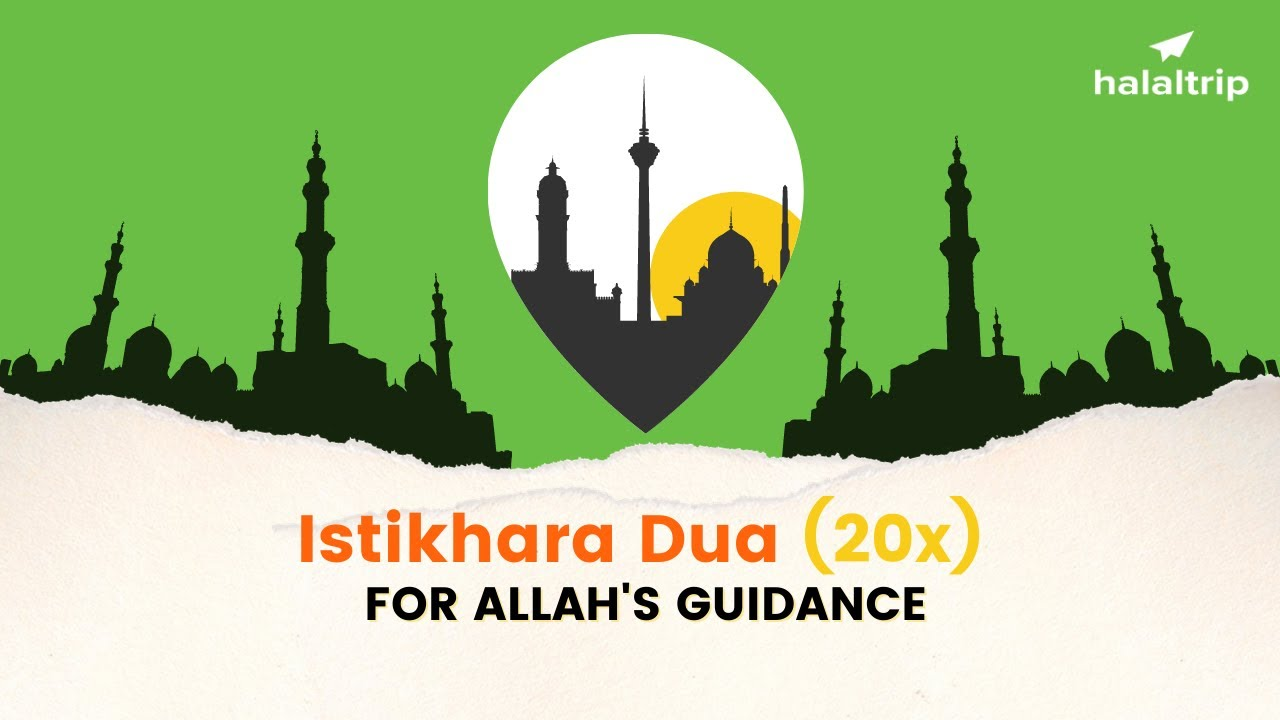 Download Istikhara Dua for Asking Allah's Guidance | 20x Loop