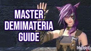 Ffxiv 2.45 0452 Master Demimateria (guide)