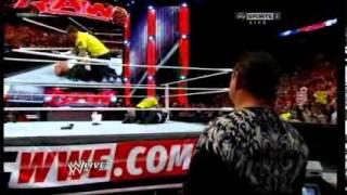 Paul Heyman faking heart attack, mocking Jerry Lawler RAW 11/13/2012