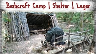 Bushcraft Lager | Shelter | Camp