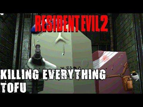 Resident Evil 2 Tofu Scenario 4th Survivor Kill All With Knife Clear