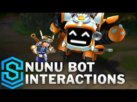 Nunu Bot Special Interactions
