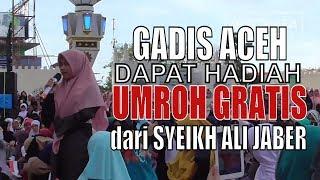 Haru, Gadis Aceh dapat Hadiah Umroh Gratis dari Syeikh Ali Jaber