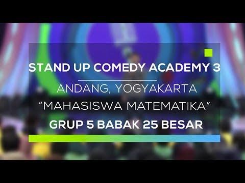 Stand Up Comedy Academy 3 : Andang, Yogyakarta - Mahasiswa Matematika