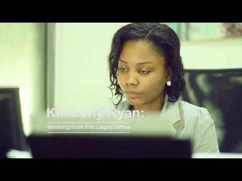 Kimberly Ryan: Working From The Lagos Office in Nigeria