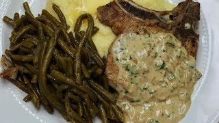 Pork Chops in Mustard Sauce with Michael's Home Cooking