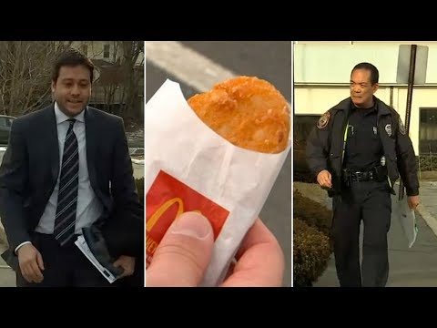 Scott Sloan - VIDEO: Man Fighting Ticket For Hash Brown Confused As Cell Phone